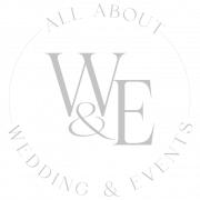 All About Weddings and Events Omaha Logo - gray